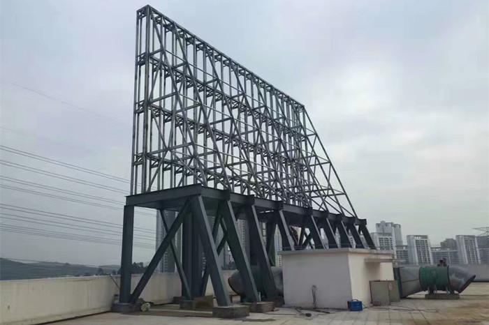 led全彩屏钢结构安全值得重视